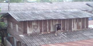 slum homes in India